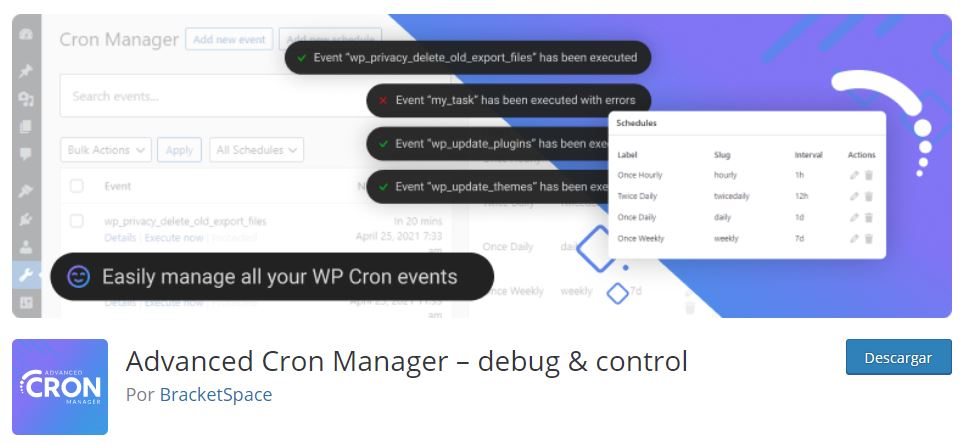 Advanced Cron Manager